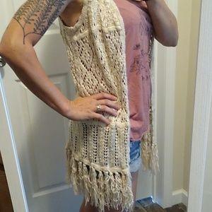 Pink rose ✨ Sleeveless crochet cardigan